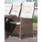 Comfort/Holiday recliner i chockladbrun m/kuddar