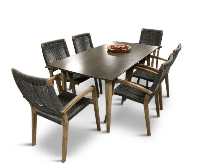 Simi 170 & Itea - seks stolar och matbord