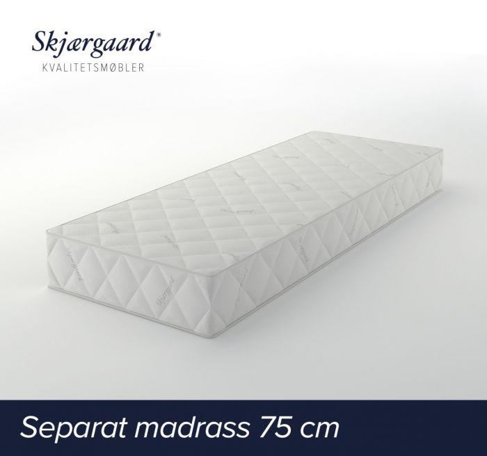 Separat Comfort hovedmadrass 75x200x21 cm - medium