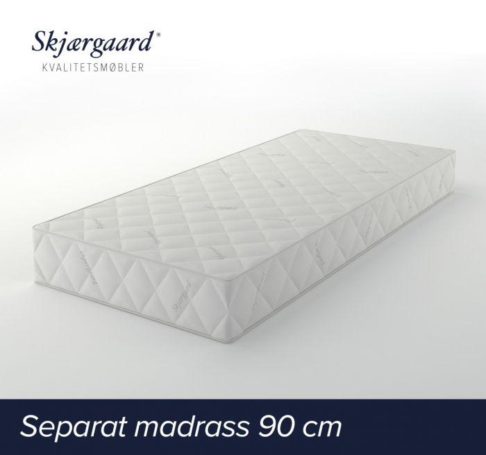 Separat Comfort hovedmadrass 90x200x21 cm - medium