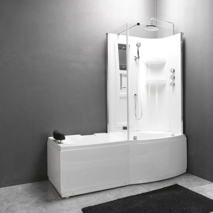 Combi 2 - badkar med dusch - höger