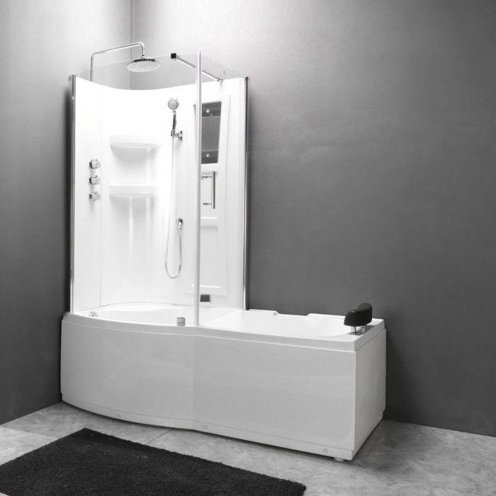 Combi 2 - badkar med dusch - vänster