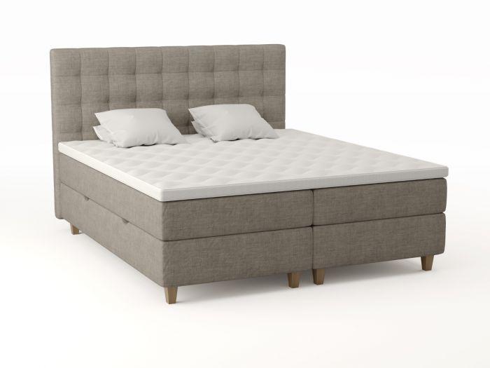 Comfort förvaringssäng 180x200 - beige