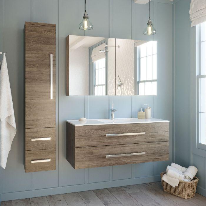 Linda Lux 120 cm badrumsmöbel