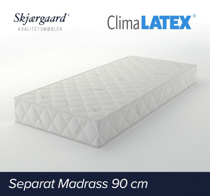 Separat Premium hovedmadrass 90x200x21 cm - fast