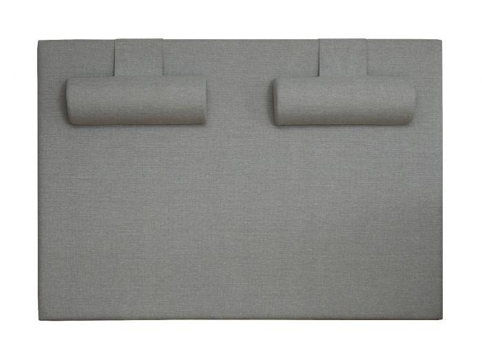 Halskuddar for Möre sänggavlar - lys grå