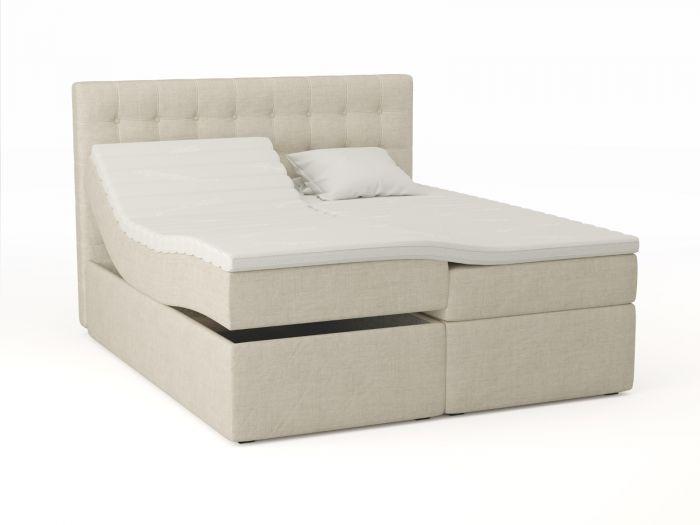 Premium ställbar säng 180x200 - sand