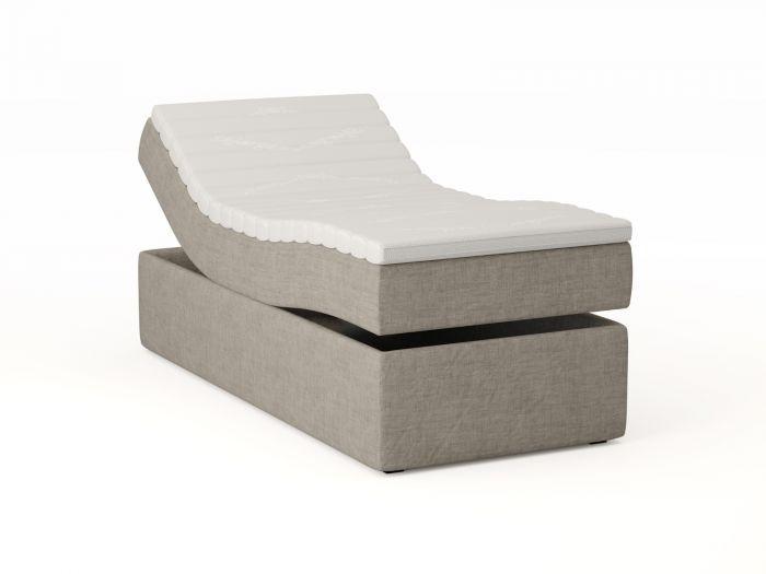 Premium ställbar säng 90x200 - beige