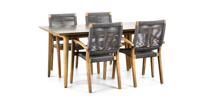 Tavos 170 & Itea  - Fyra stolar och matbord
