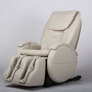 Carter Shiatsu massagestol i off-white