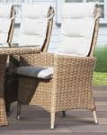 Comfort/Holiday recliner i naturmix m/kuddar