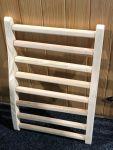 Ryggstöd för bastu i hemlock träverk 40x60 cm