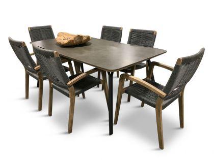 Simi 180 & Itea -seks stolar och matbord