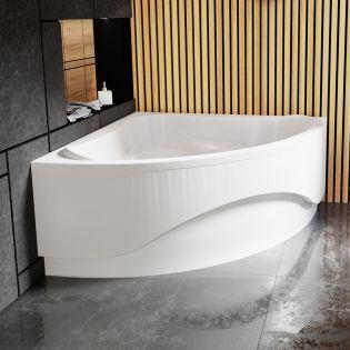 Waterlux Capri badkar 135x135 cm
