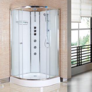 Fossefall Easyfix duschkabin vit