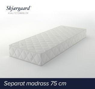 Separat Comfort hovedmadrass 75x200x21 cm - fast