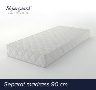 Separat Comfort hovedmadrass 90x200x21 cm - fast