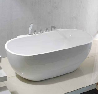 Relax fristående badkar 170 cm