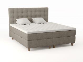 Comfort seng med oppbevaring 180x210 - beige