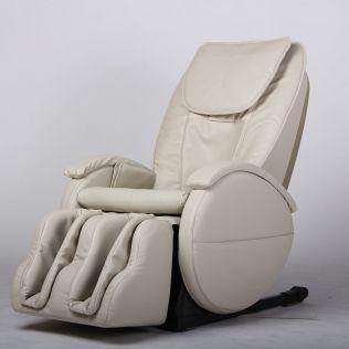 Carter Shiatsu massagestol i off-white