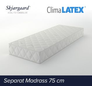 Separat Premium hovedmadrass 75x200x21 cm - medium