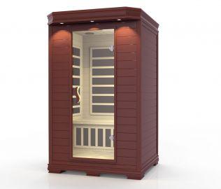 Ideal sauna mörk, 2 personer