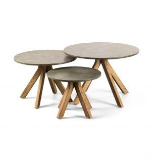 Lagos - Pakke med tre bord